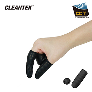 Conductive Black Finger Cots